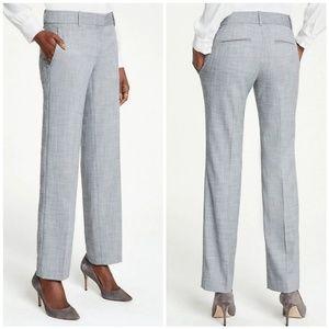 Ann Taylor Gray Pants in Crosshatch 6P
